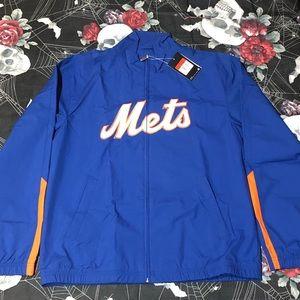 VINTAGE 2009 NIKE NEW YORK METS WIND ZIP JACKET L